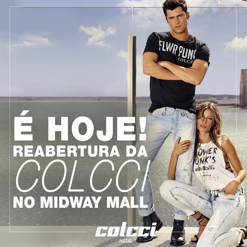 293c5a024 COLCCI É REINAUGURADA HOJE NO MIDWAY MALL E APRESENTA NOVA COLEÇÃO ...