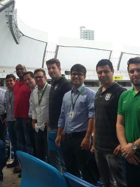 FNF recebe equipe de coordenação da Seleção Brasileira em Natal