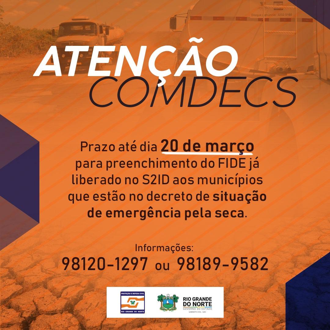 Resultado de imagem para Prazo para municípios apresentarem dados sobre seca acaba nesta quarta, 20